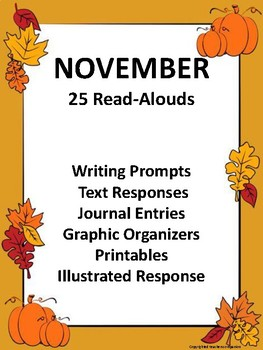 November Read-Aloud Activities