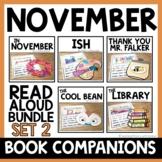 November Read Aloud Activities | Mini Read Aloud Unit GROW
