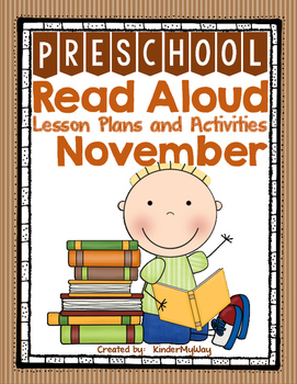 November Read Aloud Lesson Plans Preschool