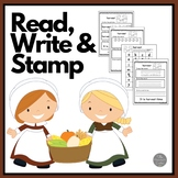 November Read Write and Stamp! Set Two