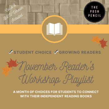 November Reader's Workshop Playlist