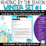 Winter Reading Comprehension Passages and Questions   January