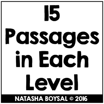 """November Reading Comprehension Passages with """"WH"""" Questions (Leveled)"""