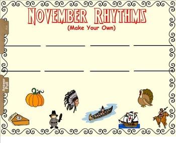 November Rhythm Fun - Exploring Duration of Sound (SMNTBK Edition)