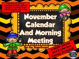 November SMARTboard Calendar and Games!