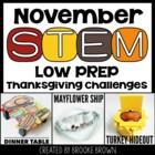 Thanksgiving STEM Challenges (November)