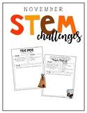 November / STEM Challenges