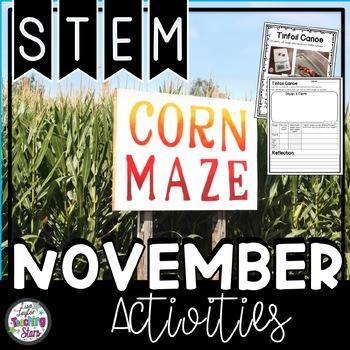 November STEM Challenges (Thanksgiving)