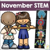 November STEM 12 Challenges Fall Autumn Thanksgiving