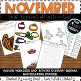 November Self-Regulation Activities