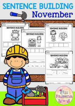November Sentence Building