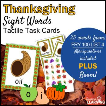 November Sight Word Center
