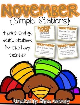November Simple Stations [Monthly No Mayhem]
