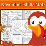 November Skill Mats