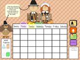 Smartboard Calendar November