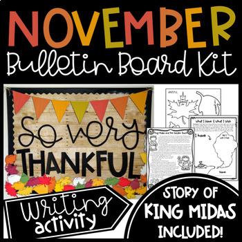 Bulletin Board Ideas November Worksheets Teachers Pay