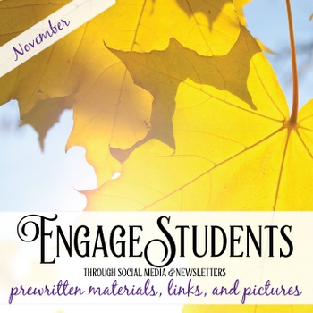 November Social Media and Newsletter Kit