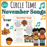 November Songs- Year B
