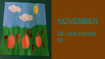 November Music Videos and A Story for Students with Special Needs