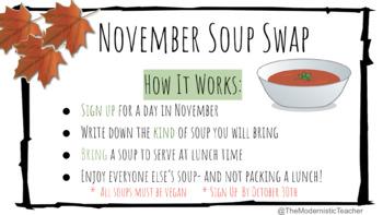 November Soup Swap
