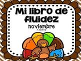 November Fluency in Spanish fluidez de noviembre