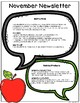November Speech & Language Newsletter