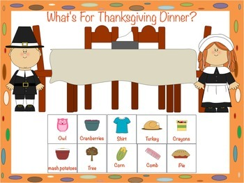 November Speech and Language Activity Bundle