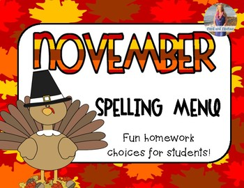 November Spelling Choices *Free!*