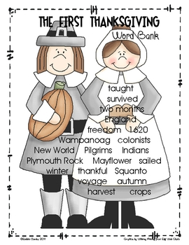 November Story Paper and Word Banks