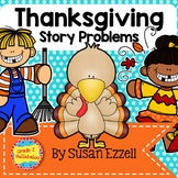 Thanksgiving Story Problems {NO PREP!} 2-Digit Addition PLUS 2 Games!