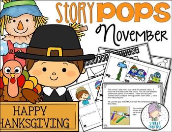 November Story Starter Sticks