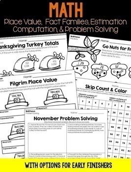 November Sub Plans  (Print & Go)