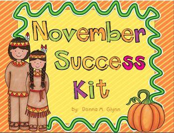 November Success Kit:  Great for RTI