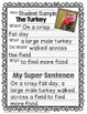 November Super Sentences: Using Who, What, When, Where, Why and How
