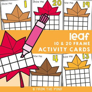 November Ten Frame Activity Cards