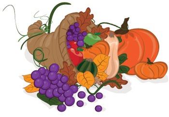 November Thanksgiving Harvest Bundle {Messare Clips and Design}