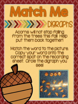 November - Thanksgiving - Literacy Centers