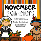 November / Thanksgiving Math Centers