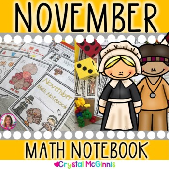 November Thanksgiving Math Notebook (Math for the Entire Month!)