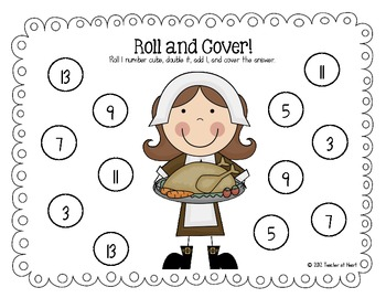 November {Thanksgiving} Roll and Cover