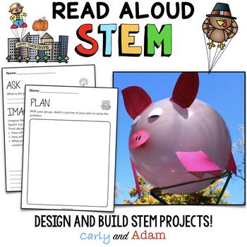 November Thanksgiving Read Aloud STEM Activities BUNDLE