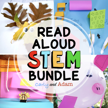 November Thanksgiving READ ALOUD STEM™ Activities and Challenges BUNDLE