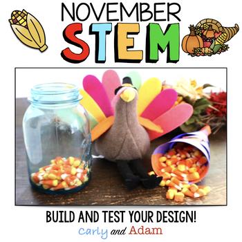 November Thanksgiving STEM Activity: Cornucopia