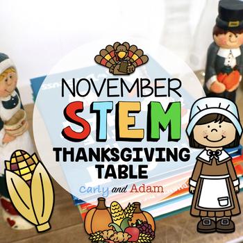 November Thanksgiving STEM Activity: Dinner Table