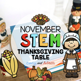 November Thanksgiving STEM Activity: Dinner Table