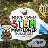 The Mayflower Thanksgiving STEM Challenges