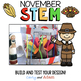 Turkey Trap Thanksgiving STEM Activity