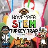 Turkey Trap Thanksgiving STEM Activity + Digital for Distance Learning