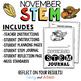 November Thanksgiving STEM Activities Bundle