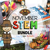 November Thanksgiving STEM Activities Bundle